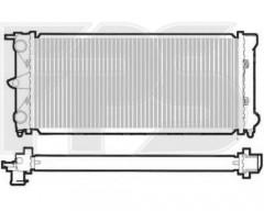 Радиатор охлаждения двигателя для VW (NISSENS) FP 74 A441