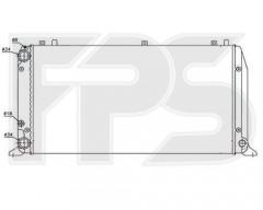 Радиатор охлаждения двигателя для AUDI (FPS) FP 12 A409-P