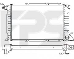 Радиатор охлаждения двигателя для FORD (NRF) FP 28 A739-X