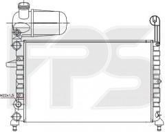 Радиатор охлаждения двигателя для FIAT (FPS) FP 26 A786