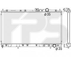 Радиатор охлаждения двигателя для MITSUBISHI (KOYORAD) FP 48 A1266-X