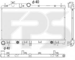 Радиатор охлаждения двигателя для SUBARU (KOYORAD) FP 67 A1413-X