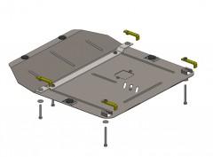 Кольчуга Защита картера двигателя для Chevrolet Cruze '08-, АКПП/МКПП, V-все бензин (Кольчуга)