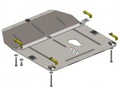 Кольчуга Защита картера двигателя для Chevrolet Cruze '08-11, АКПП/МКПП, V-все дизель (Кольчуга)