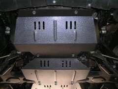 Кольчуга Защита картера двигателя для Great Wall Hover '05-, V-2,4; 2,8D, МКПП (Кольчуга)