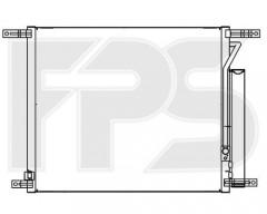 Радиатор кондиционера для CHEVROLET (NRF) FP 17 K131