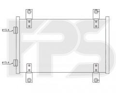 Радиатор кондиционера для CITROEN / FIAT / PEUGEOT (Nissens) FP 20 K61
