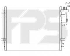 Радиатор кондиционера для HYUNDAI / KIA (OEM) FP 32 K170-X