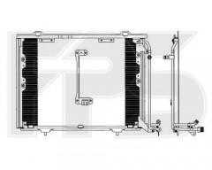Радиатор кондиционера для MERCEDES (Nissens) FP 46 K101