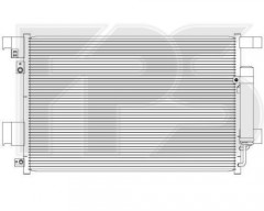 Радиатор кондиционера для MITSUBISHI (Koyorad) FP 48 K500-X