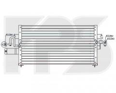 Радиатор кондиционера для NISSAN (BEHR) FP 50 K262-X
