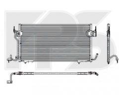 Радиатор кондиционера для CITROEN / PEUGEOT (NRF) FP 54 K22