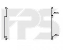 Радиатор кондиционера для SUZUKI (Koyorad) FP 68 K338-X