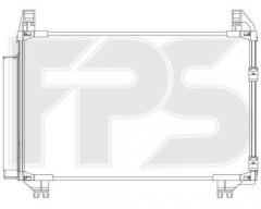 Радиатор кондиционера для TOYOTA (Koyorad) FP 70 K486-X