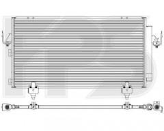 Радиатор кондиционера для Toyota (NRF) FP 70 K498-X
