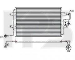 Радиатор кондиционера для SEAT / SKODA / VW (BEHR) FP 74 K353-X