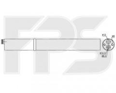 Осушитель кондиционера для SEAT / SKODA / VW (NRF) FP 74 Q116-X