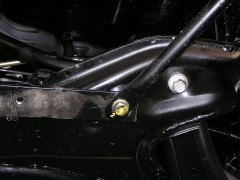 Фото 3 - Защита картера двигателя и КПП, радиатора для Geely MK хетчбэк '06-, V-1,5, МКПП/сборка Украина (Кольчуга)