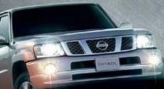 Решетка накладка радиатора для Nissan Patrol '05-on