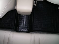 Фото 7 - Коврики в салон для BYD G6 '11- резиновые, черные (AVTO-Gumm)