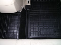 Фото 8 - Коврики в салон для BYD G6 '11- резиновые, черные (AVTO-Gumm)
