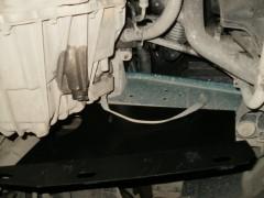 Фото 2 - Защита картера двигателя и КПП, радиатора для Renault Master '98-10, V-3,0 DCI с кондиционером (Кольчуга)