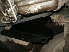 Фото 3 - Защита картера двигателя и КПП, радиатора для Renault Master '98-10, V-3,0 DCI с кондиционером (Кольчуга)