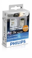 Geely ������������� �������� Philips X-tremeVision 12764-02 LED  PY21W 12V (�������� 2 ��.)