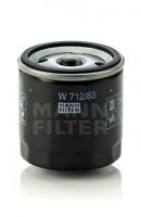 Масляный фильтр MANN-FILTER W 712/83