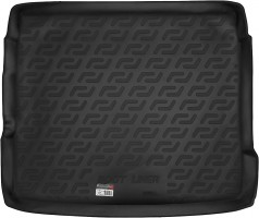 Коврик в багажник для Audi Q3 '11-, резиновый (Lada Locker)