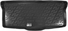 Коврик в багажник для Citroen C1 '05-14, резино/пластиковый (Lada Locker)