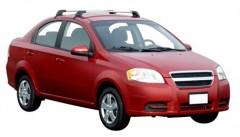 Багажник на крышу для Chevrolet Aveo T250 '06-11 седан, до края опоры (Whispbar-Prorack)
