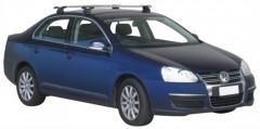 Багажник на крышу для Volkswagen Jetta V '06-10, сквозной (Whispbar-Prorack)