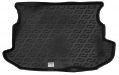 Коврик в багажник для Ssangyong Korando '11-, резино/пластиковый (Lada Locker)