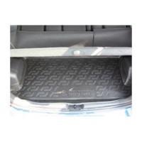 Коврик в багажник для Toyota Yaris '06-10, резино/пластиковый (Lada Locker)
