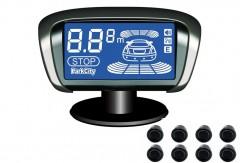Парктроник Parkcity Tallin 18мм с датчиками черного цвета (8 датчиков)