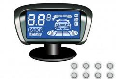 Парктроник Parkcity Tallin 18мм с датчиками белого цвета (8 датчиков)