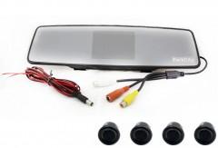 Парктроник Parkcity Tokyo 18 мм с датчиками черного цвета (4 датчика)