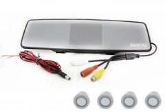 Парктроник Parkcity Tokyo 18 мм с датчиками серебристого цвета (4 датчика)