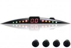 Парктроник ParkCity Ultra Slim NEW 418/110 LW с датчиками черного цвета (4 датчика)