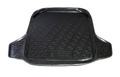 Коврик в багажник для Skoda Fabia II '07-14 универсал, резино/пластиковый (Lada Locker)