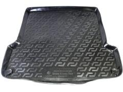 Коврик в багажник для Skoda Octavia '97-09 универсал, резино/пластиковый (Lada Locker)