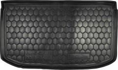 Коврик в багажник для Nissan Micra '10-, резиновый (AVTO-Gumm)