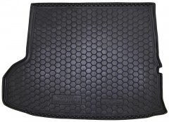 Коврик в багажник для Toyota Highlander '14-, длинный, резиновый (AVTO-Gumm)
