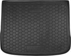 Коврик в багажник для Volkswagen Tiguan '07-16, резиновый (AVTO-Gumm)