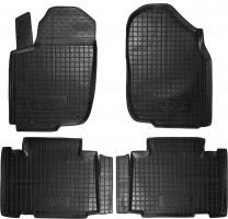 Коврики в салон для Toyota RAV4 '13- резиновые, черные (AVTO-Gumm)