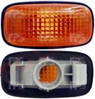Указатель поворота на крыле Nissan Primera '96-02 (P11/W11) левый/правый, желтый (DEPO)