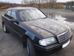 Дефлекторы окон для Mercedes C-Class W202 '93-01, седан (Cobra)