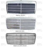 Решетка радиатора для Mercedes E-Class W124 '93-96 комплект, тюнинг (Tempest)