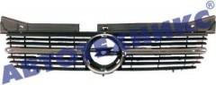 Решетка радиатора для Opel Omega B '94-99 с хром накладкой (Tempest)
